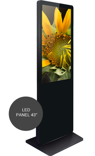LED panel 43 Extra touch